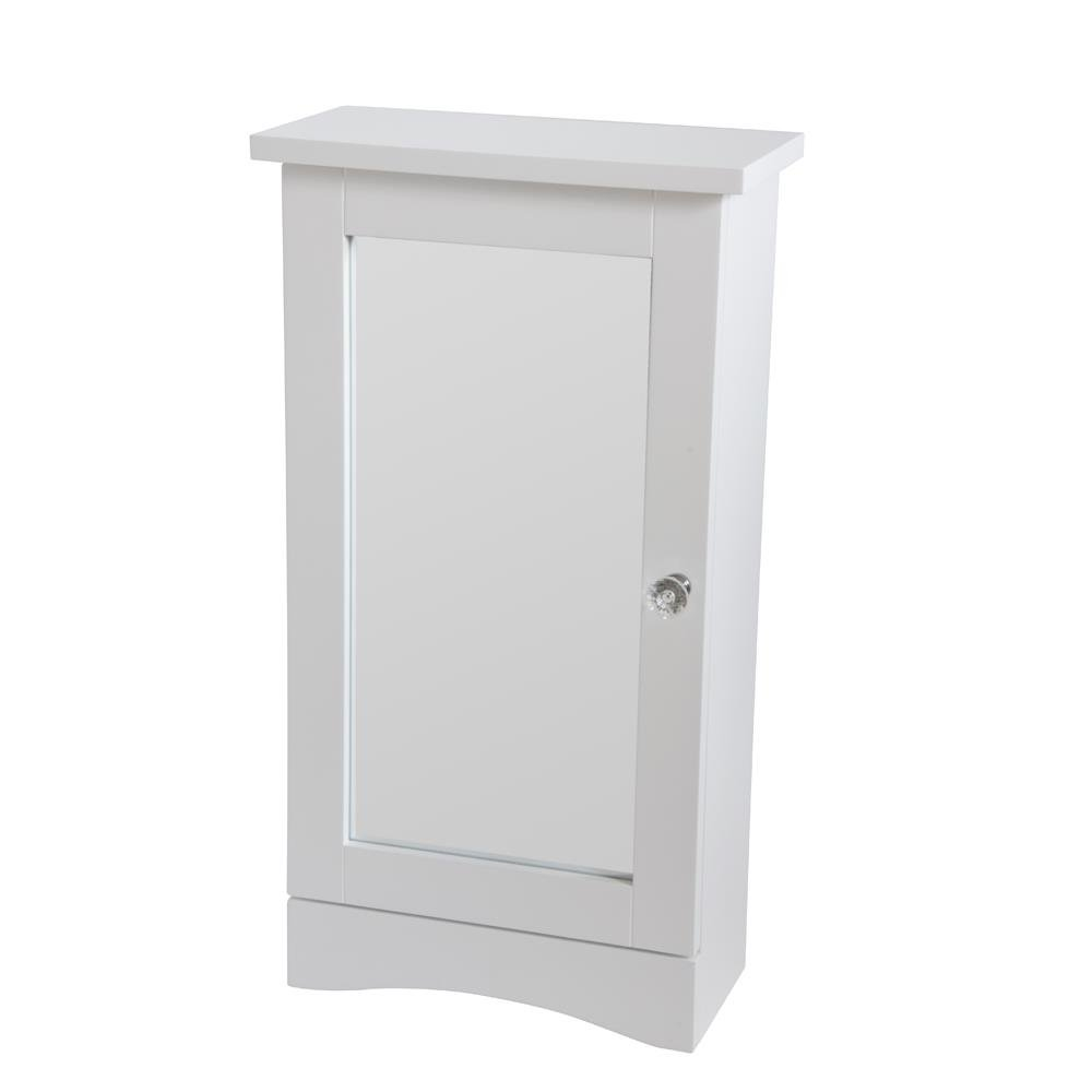 Classic Design White Mirrored Wall Cabinet Roman At Home