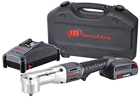 Ingersoll Rand W5330-K12 Right Angle Impactool Kit with 1 Battery, Charger and Case, 3/8