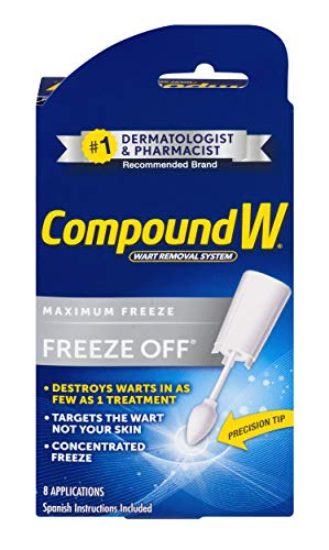 Compound W Freeze Off | Wart Removal | 8 Applications ()