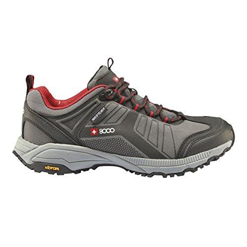 +8000 uomo tesas Scarpe da escursionismo Dark Grey