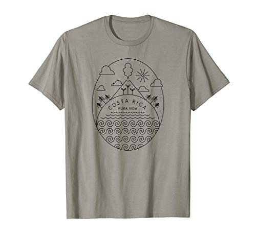 Pura Vida Shirt   Costa Rica Clothing
