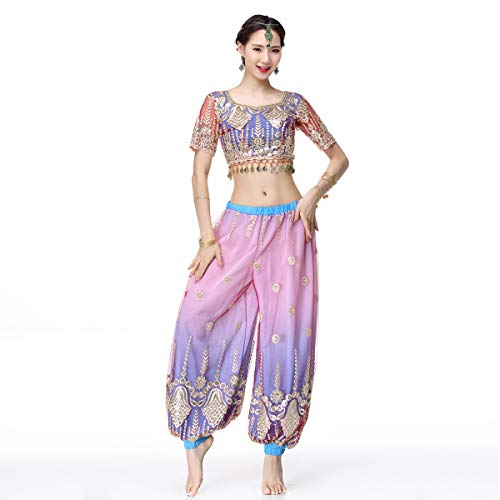Belly Dance Bollywood Costume - Sari Noble Indian