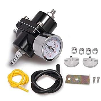 Regulador de presión de gasolina universal rendimiento para todos (Modelos Gasolina: Amazon.es: Coche y moto