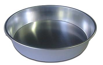 Molde para postres de aluminio, para bizcocho, redondo, 22 x 6 cm: Amazon.es: Hogar