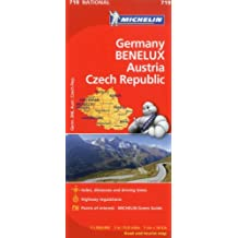 Michelin Germany Austria Benelux Czech Republic  Map 719