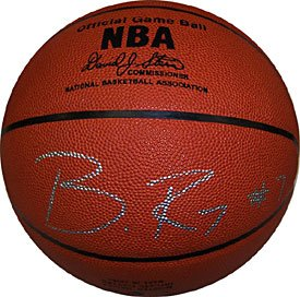 - Brandon Roy Autographed / Signed Portland Trail Blazers Leather Basketball