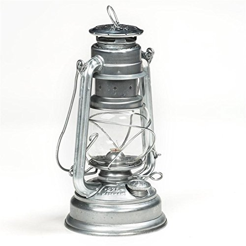 Feuerhand Lantern from Germany - Silver Galvanized Silver Galvanized (Feuerhand The Lantern)