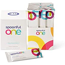 SPOONFULONE Daily Food Mix-in for Baby Food (30 Day Supply) - The Most Complete Way to Help Protect Babies from Developing a Food Allergy. Includes 30 Stick Packs, 0.17 Ounces Each.