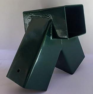 4x4 swing set a frame bracket green 2