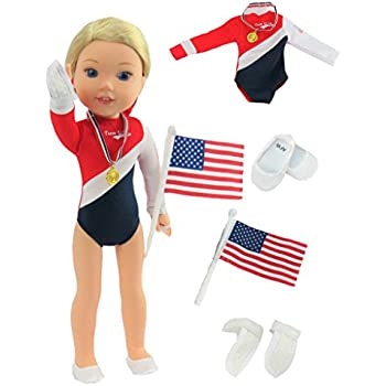 Amazon Com 14 Inch Doll Clothes Clothing Usa Inspired