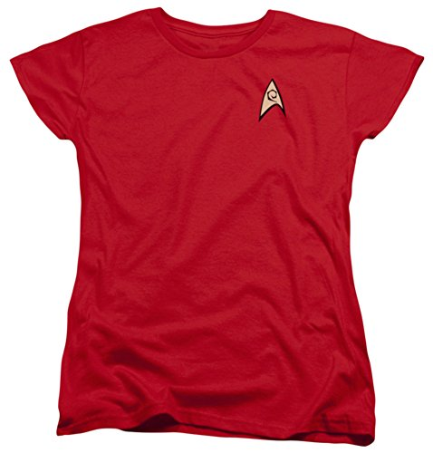 Womens: Star Trek - Engineering Uniform Ladies T-Shirt Size M -