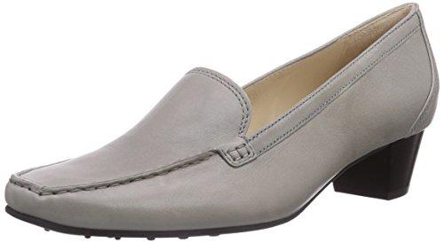 Högl 9-104510 - mocasines de cuero mujer gris - Grau (6700)