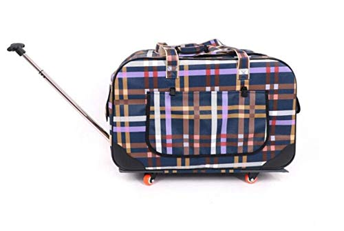 Cute Pet Four-Wheeled Pet Stroller Trolley Bag Foldable Carrier is Convenient and Practical