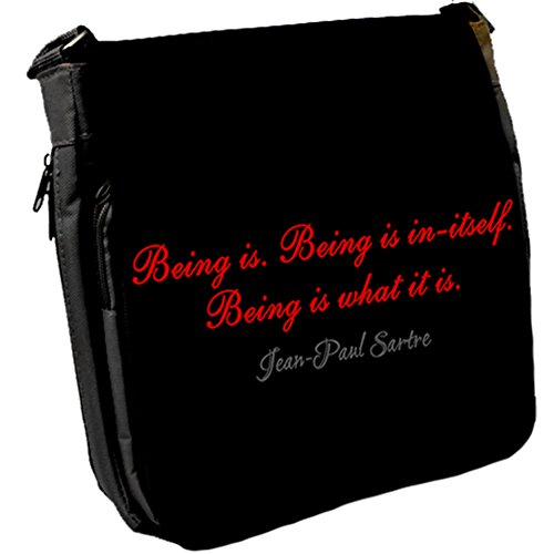 Sac Messenger Unisexe Sartre Being Is paul Jean xfW8qX