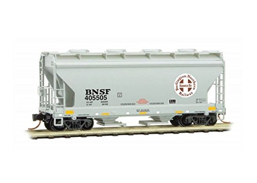 - Micro Trains BNSF 2-BAY CENTER-FLOW HOPPER