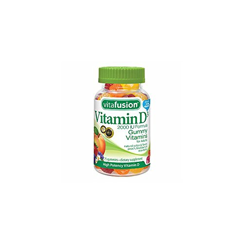 VitaFusion vitamine D3 2000 UI Gummy vitamines pour adultes - 275 Gummies