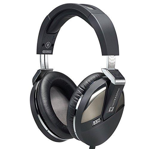 S-logic Surround Sound Professional Headphones (Ultrasone Performance 880 S-Logic Plus Surround Sound Professional Closed-back Headphones with 1 Year Free Extended Warranty)
