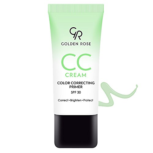 Golden Rose CC Cream with Spf 30, Green (Best Cc Cream For Redness)