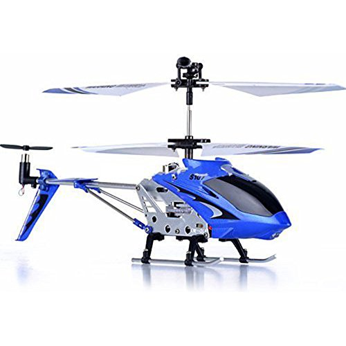 LEANINGTECH X Syma S107G 3 Channel RC Radio Mini Alloy Remote Control Helicopter with Gyro for Children and Beginners (Mini Kids Chopper)