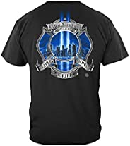 Firefighter T-Shirt Tribute High Honor X-Large Black