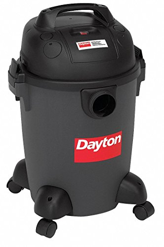 6 gal. Commercial 2 Wet/Dry Vacuum, 8 Amps, HEPA Filter Type