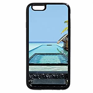 iPhone 6S / iPhone 6 Case (Black) Swimming Pool in The Maldives