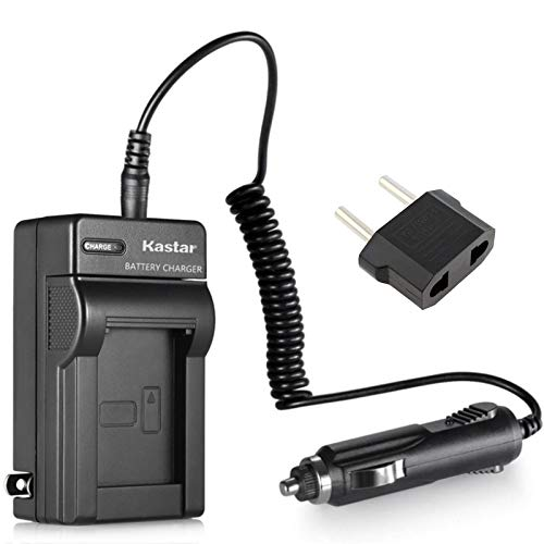 Kastar Battery Charger Set Replacement for Canon BP-807 / BP-808 / BP-809 / BP-819 / BP-827  battery and Canon FS10 / FS100 / FS11 / FS20 / FS200 / FS21 / FS22 / FS30 / FS300 / FS31 Cameras
