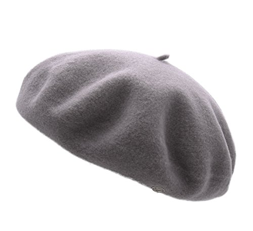 Laulhère Charly Beret Size M Gray-Clair