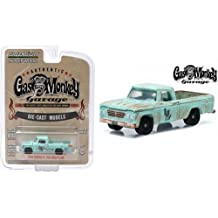 "1/64 1964 Dodge D-100 Sweptline ""Gas Monkey Garage"" Hollywood Series 10 Greenlight 44700E"
