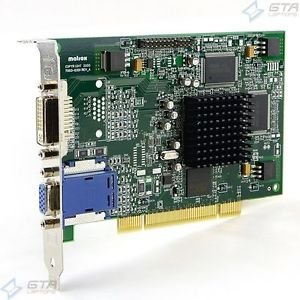 MATROX G45FMDVP32DB 32MB PCI VIDEO CARD WITH VGA AND DVI OUTPUTS ()