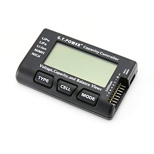 Wikiwand G.T.Power LCD Voltage Capacity Checker for LiPo NiMH Nicd Battery Balance View by Wikiwand (Image #6)