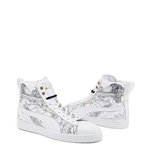 Puma 9 5 357298 Unisex Bianco Sneakers PAqPwIr