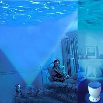Fly-shop-Proyector Lámpara oceano con Altavoces de MP3 Proyección ...