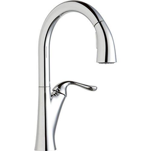Elkay LKHA4031CR Single Lever Pull Down Kitchen Faucet