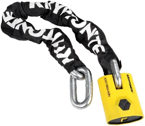 Kryptonite New York Legend 1590 Chain Bicycle Lock with New York Padlock Bike Lock