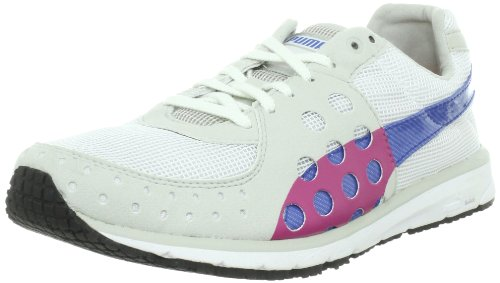 PUMA RUNNING SNEAKERS FAAS 300 WMN'S WOMEN, WHITE/GREY VIOLET/BLUE, COLOUR WHITE