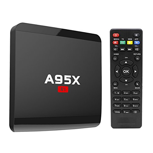 TV Box,Android 6 0 Smart TV Box A95X R1 Quad Core Supports 4K