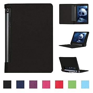 Asng Lenovo Yoga Tab 3 Plus/Yoga Tab 3 Pro 10 Case - Slim Folding Cover with Auto Wake/Sleep for Lenovo Yoga Tab 3 Plus YT3-X703F / Yoga Tab 3 Pro ...