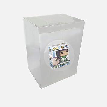 WiCareYo Caja Protectora Estuche Protectora de plástico Transparente para Figuras de Vinilo Funko Pop de 4 Pulgadas: Amazon.es: Juguetes y juegos