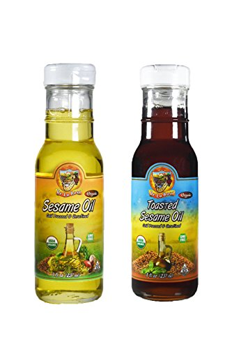 Organic Sesame Oil Combo by De La Rosa Real Foods & Vineyards