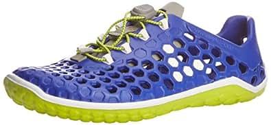 Vivobarefoot Mens Ultra Pure Water Shoes, Blue/Sulphur, 40 EU/7 US