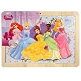 Disney Princess Wood Picture Frame 12-Piece Puzzle