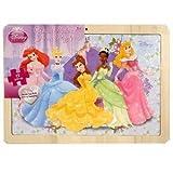Disney Princess Wood Picture Frame 12-Piece Puzzle