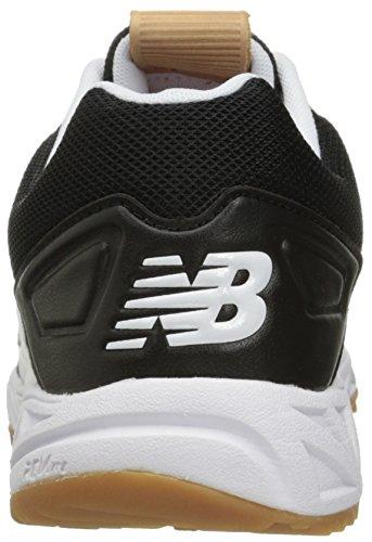 New Balance Herren 3000v3 Baseball Turf Schuhe Schwarz-Weiss