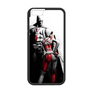 iPhone6 case, [PC] iPhone 6 Cover Batman Harley Quinn theme hard back case for iPhone 6 (4.7'')