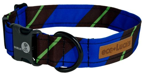 "eco-Lucks Dog Collar, Hackysack, Medium 12"" x 20"""