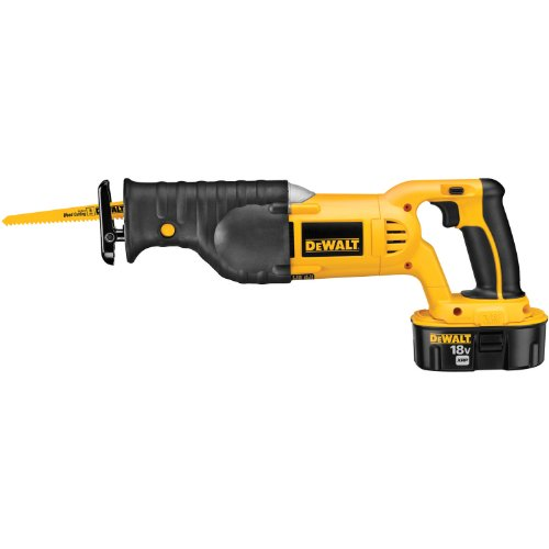 DEWALT DC385K 18-Volt Ni-Cad Cordless Reciprocating Saw Kit