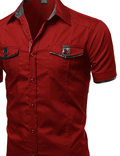 Youstar Men's Short Sleeve Button Down Shirts in the UAE. See ...