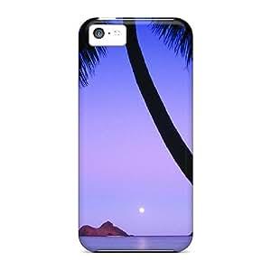 Ideal DennisEM Case Cover For Iphone 5c(mokulua Isls Lanikai Beach Hawaii), Protective Stylish Case