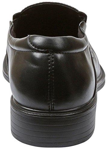 Giorgio Brutini Dicaprio Chaussures de robe à enfiler pour homme Large Avail UK Tailles - noir - noir,